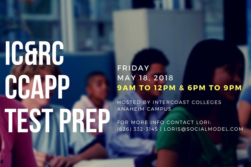 IC&RC CCAPP Test Prep