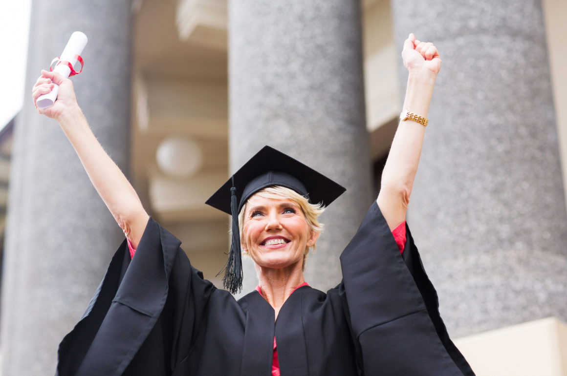 5 Reasons Why It's Never too Late to Get a Degree