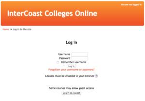 Login InterCoast Colleges