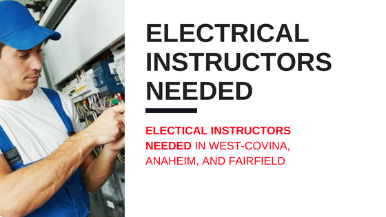 electrical instructor job