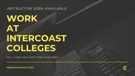 Job opportunities at InterCoast Colleges