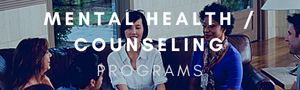 Mental Health and Counseling Programs