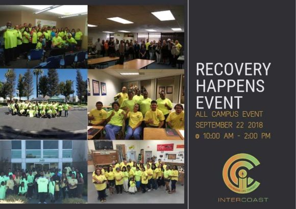 InterCoast Colleges Announces Details For Annual Recovery Happens Event