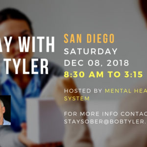 A DAY WITH BOB TYLER – In San Diego