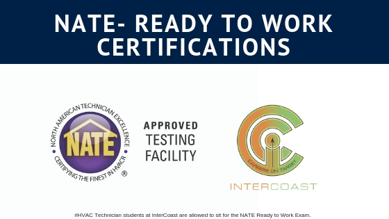 InterCoast Colleges Now Offering Students Two NATE Certification Tests