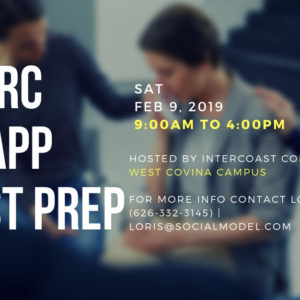 IC&RC / CCAPP February Test Prep – In West Covina